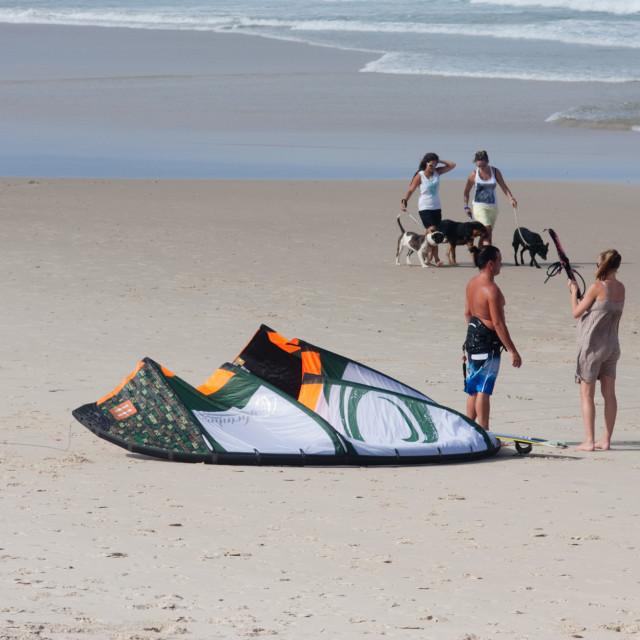 """Gold Coast recreation scene 2"" stock image"