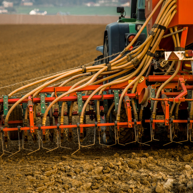 """""""Tractor agriculture"""" stock image"""