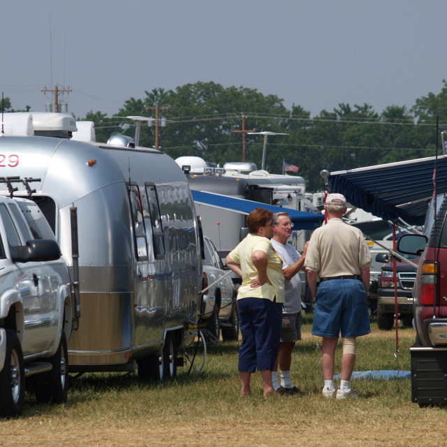 """Airstream Rally-Springfield, Missouri"" stock image"