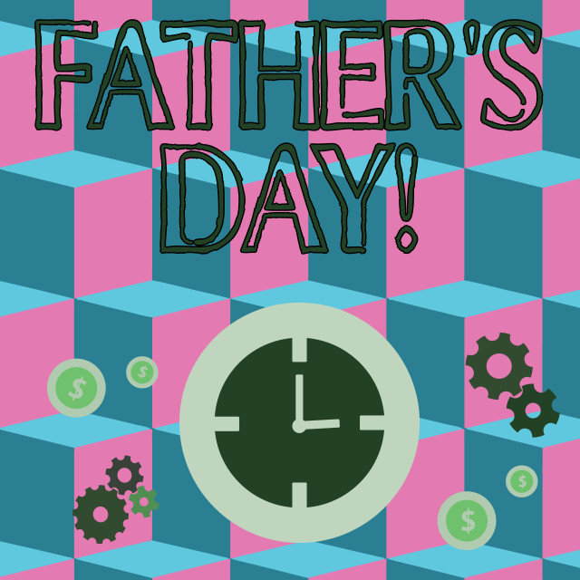 """""""Writing note showing Father S Day. Business photo showcasing day of year..."""" stock image"""
