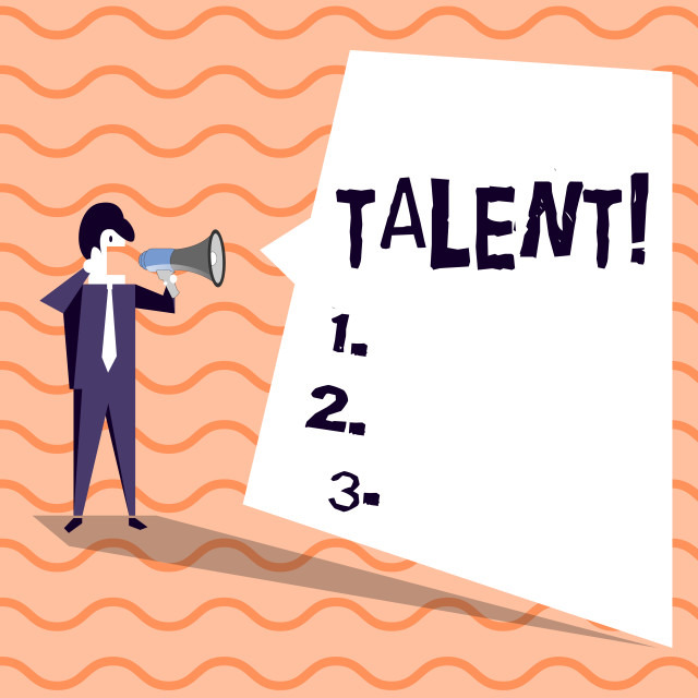 """Word writing text Talent. Business concept for Natural abilities of showing..."" stock image"
