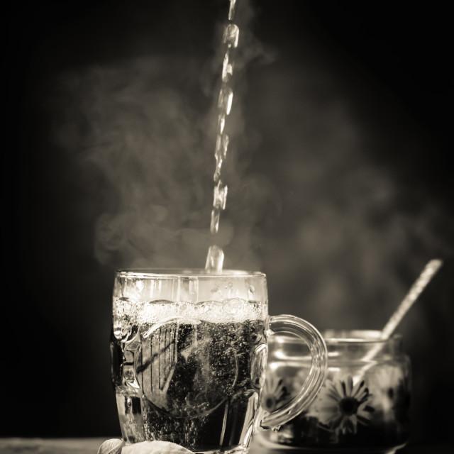 """Black Tea"" stock image"