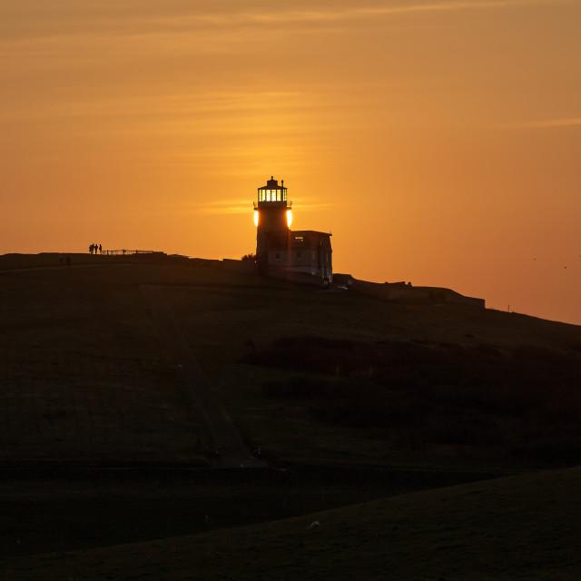 """Belle Tout Sunset 3"" stock image"