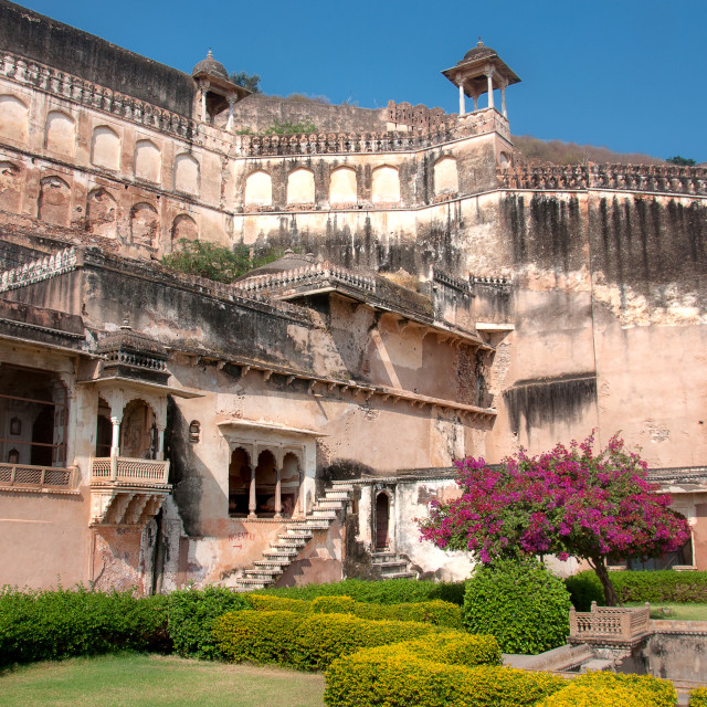 """Taragarh Fort, Ajmer"" stock image"