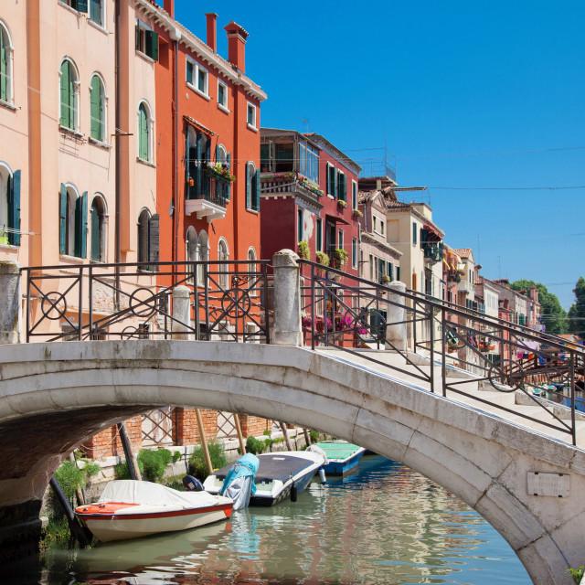 """""""Sestriere di Castello, Venice, Veneto, Italy"""" stock image"""
