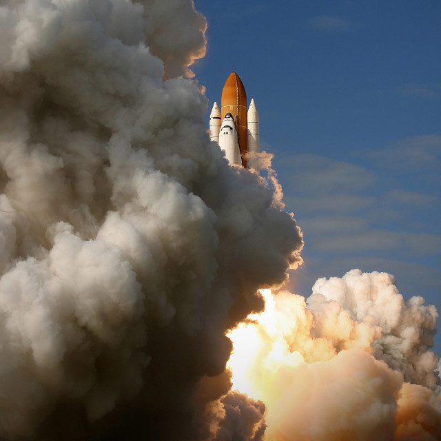 """Space Shuttle 49"" stock image"