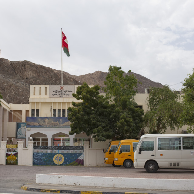 """""""Bus station in Oman"""" stock image"""
