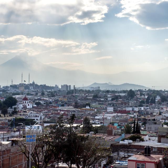 """""""Puebla Panorama"""" stock image"""