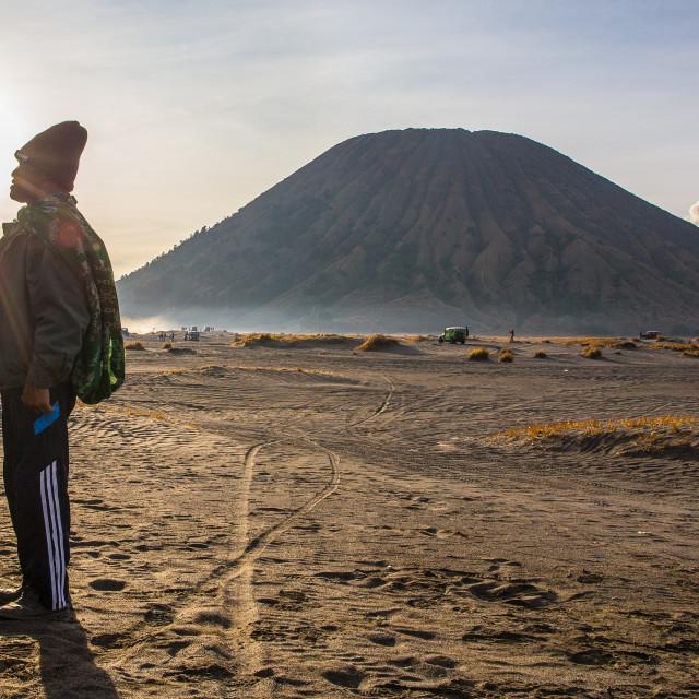 """""""Bromo Tengger Semeru National Park"""" stock image"""