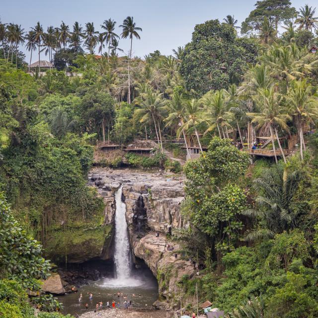 """""""Tegenungan Waterfall in Bali"""" stock image"""