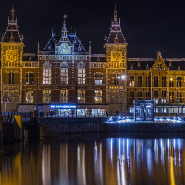 """Amsterdam Centraal"" stock image"