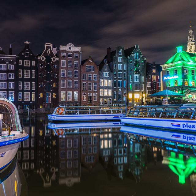 """Amsterdam Canal Houses, Amsterdam"" stock image"
