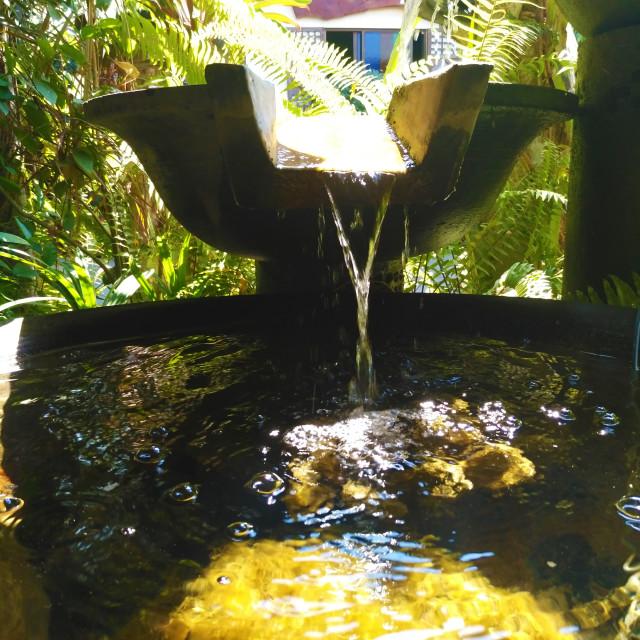 """""""fountain in balaoan"""" stock image"""