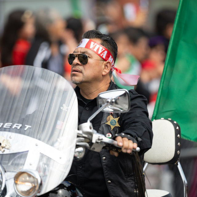 """""""Mexican Independence Parade"""" stock image"""