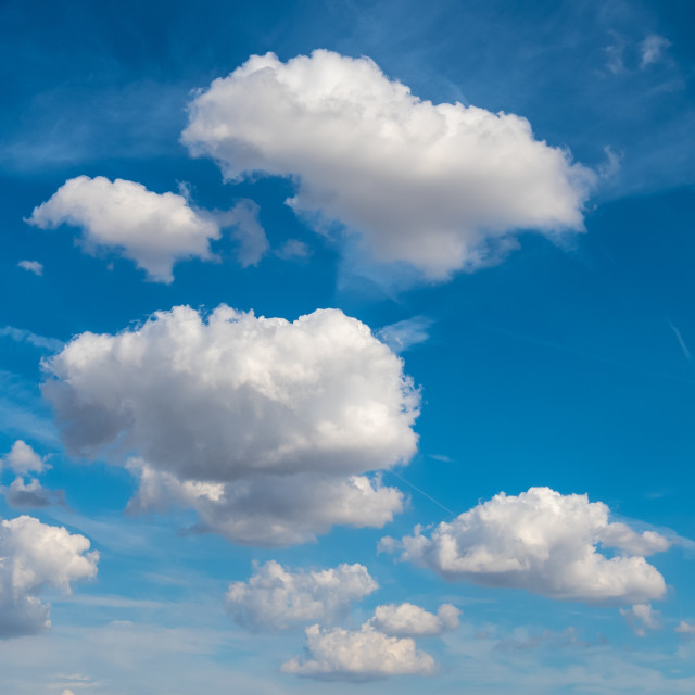 """Clouds"" stock image"