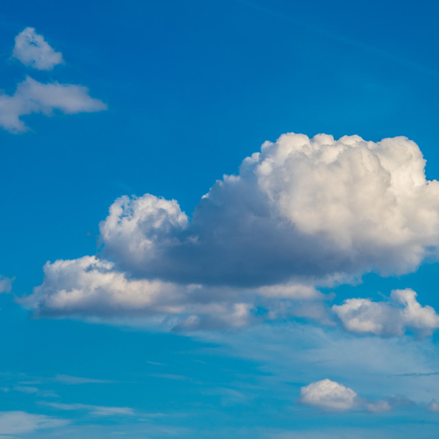 """Clouds in Sky2"" stock image"