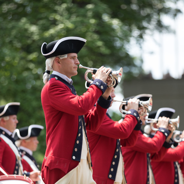 """""""National Independence Day Parade 2018"""" stock image"""