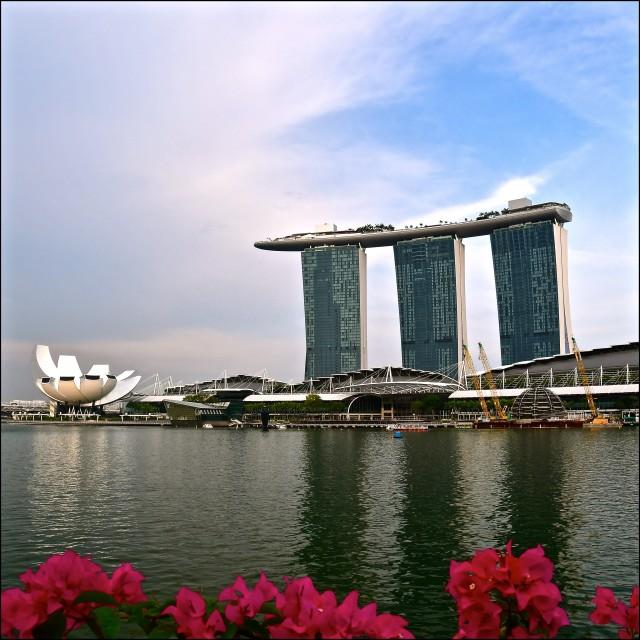 """""""Singapore Bayfront"""" stock image"""