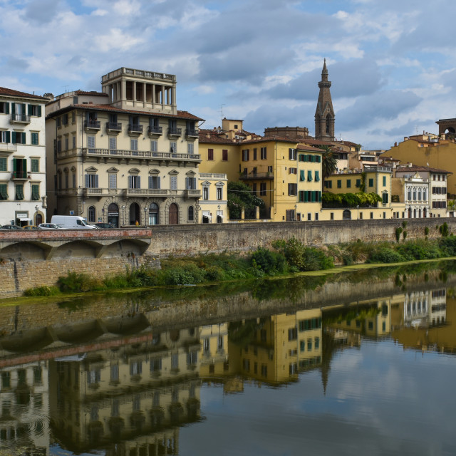 """Florence's Wonderful Architecture"" stock image"