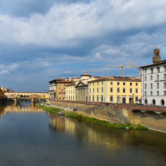 """Hotel Balestri in Florence"" stock image"