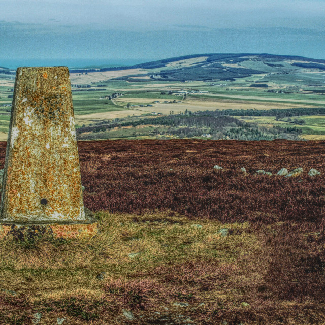 """""""Trig Point"""" stock image"""