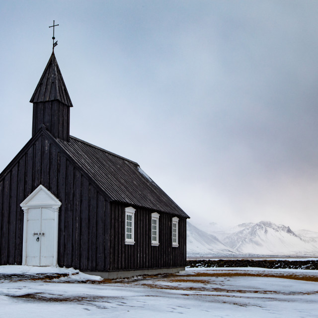 """Black Church Budir"" stock image"