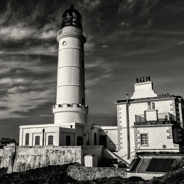 """Corsewall Lighthouse"" stock image"