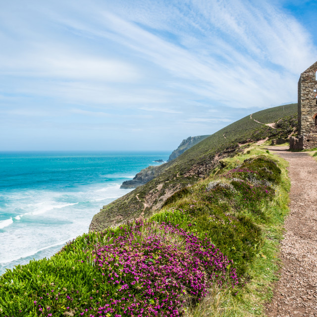 """Wheal Coates"" stock image"