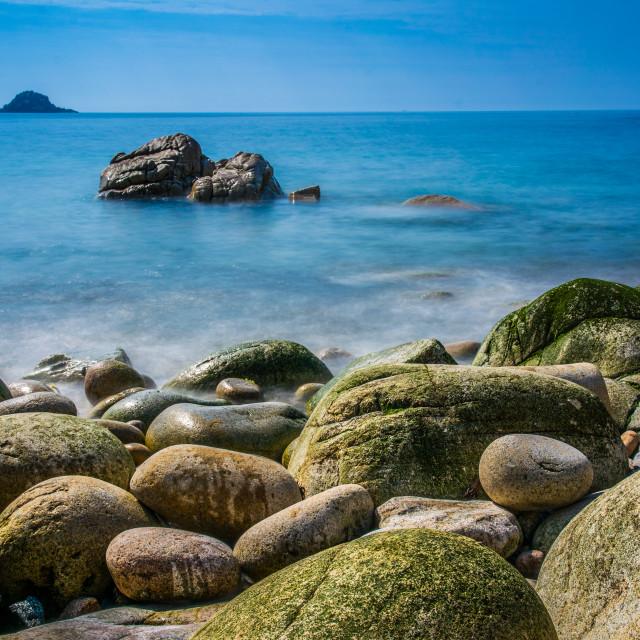 """Porth Nanven Cornwall"" stock image"