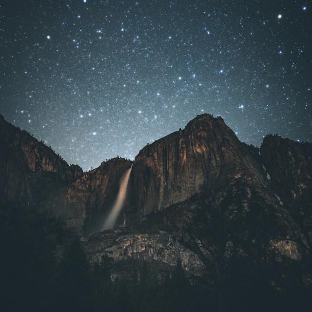 """""""Cosmic falls"""" stock image"""