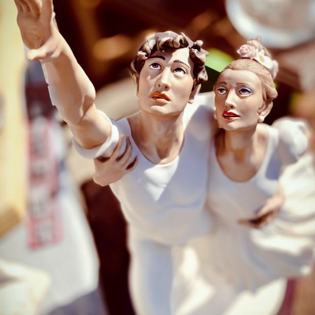 """Statuette kitsch"" stock image"