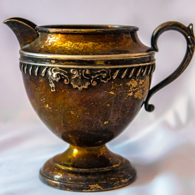 """Still Life Teapot / Pitcher / Vase"" stock image"