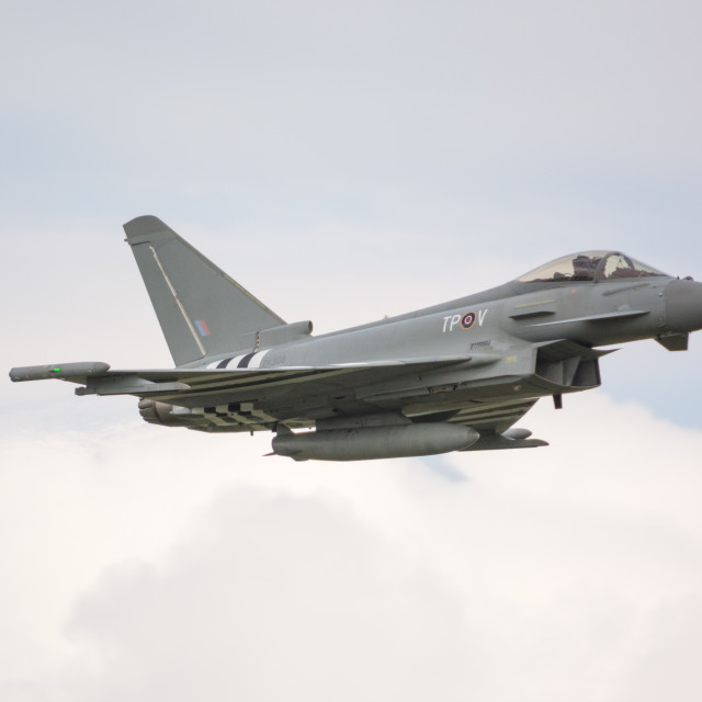 """""""Typhoon in action"""" stock image"""