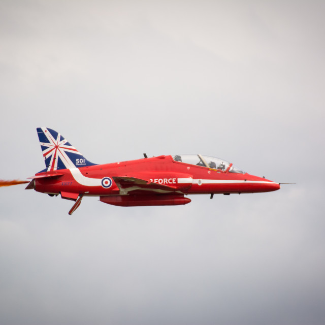 """""""Solo Red Arrow"""" stock image"""