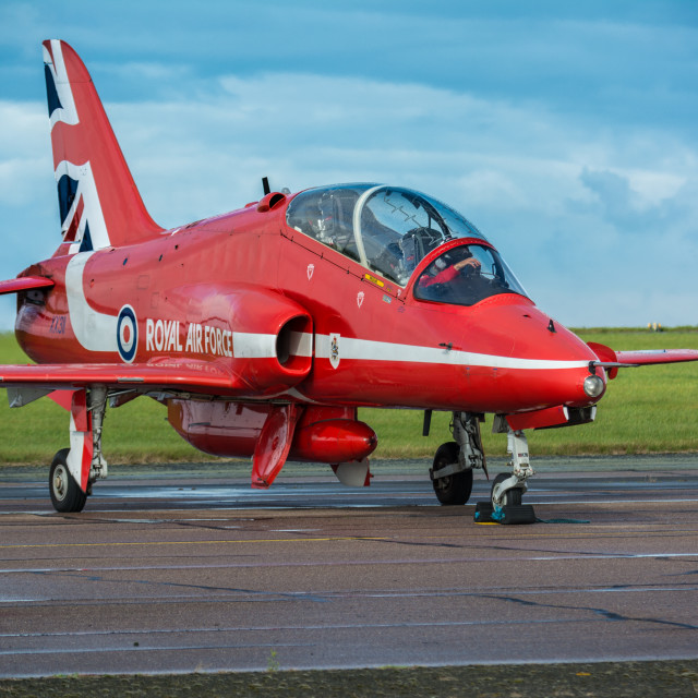 """""""Red Arrow being prepared"""" stock image"""