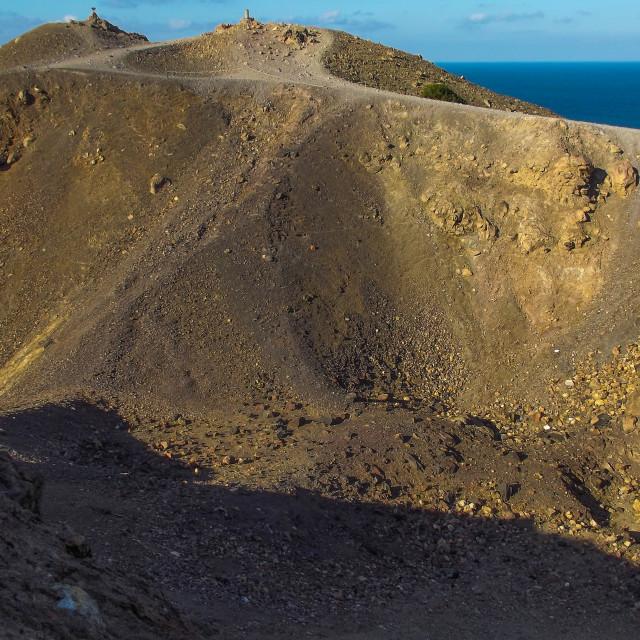 """Bare Volcano"" stock image"