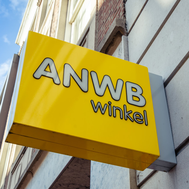 """ANWB lightbox logo"" stock image"