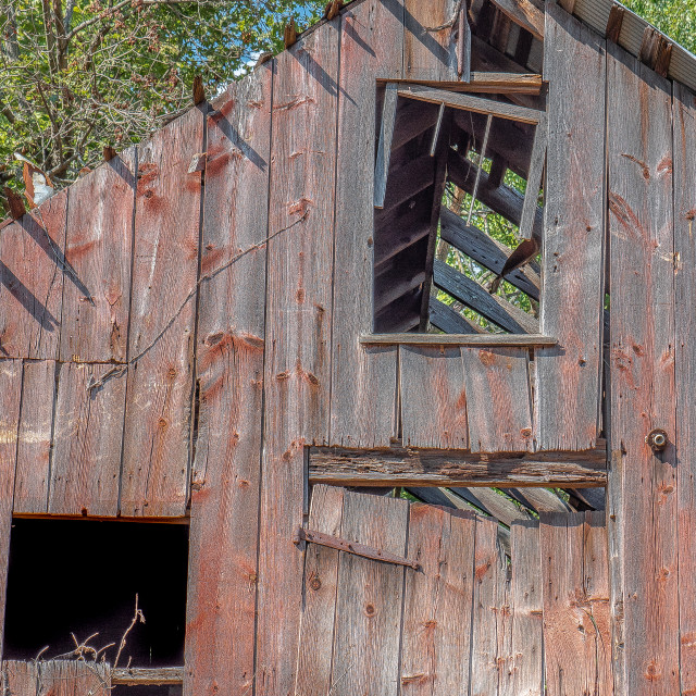 """""""The Old Barn"""" stock image"""