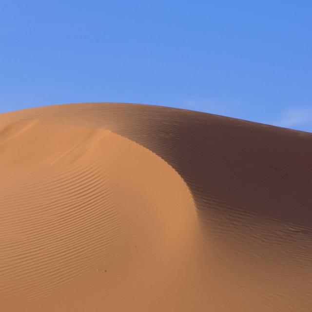 """""""The Simpson Desert: Birdsville, Queensland"""" stock image"""