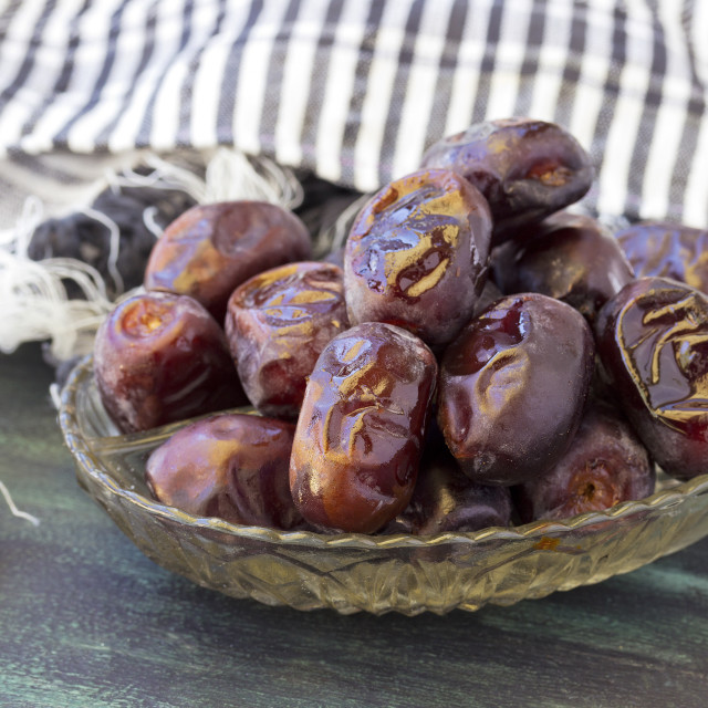 """""""Delicious dried dates"""" stock image"""