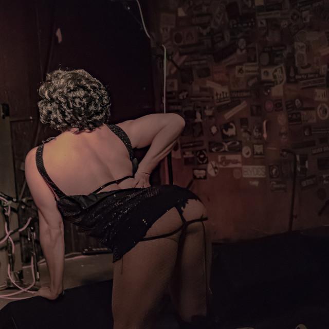 """Burlesque Dancer"" stock image"