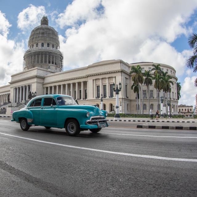 """""""The Capitolio of Havana"""" stock image"""