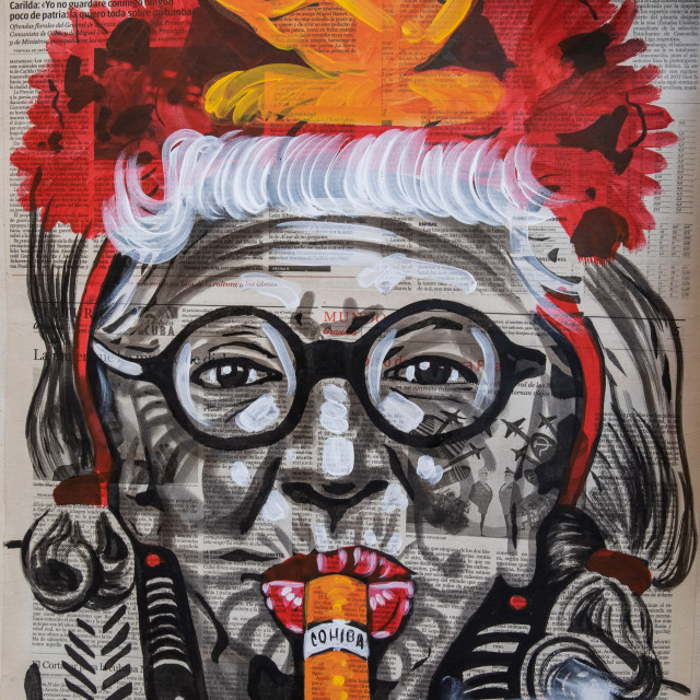 """Cuban art"" stock image"