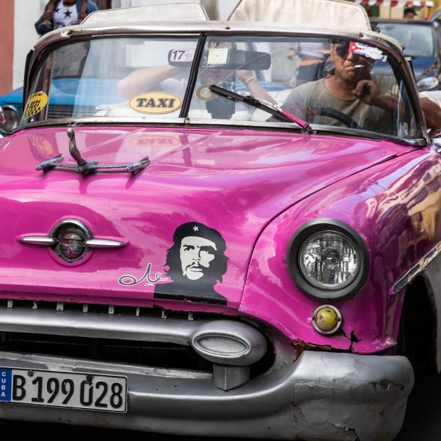 """""""Cars of Cuba"""" stock image"""