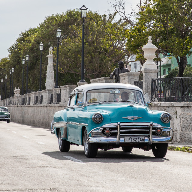 """""""The old cars of Cuba"""" stock image"""