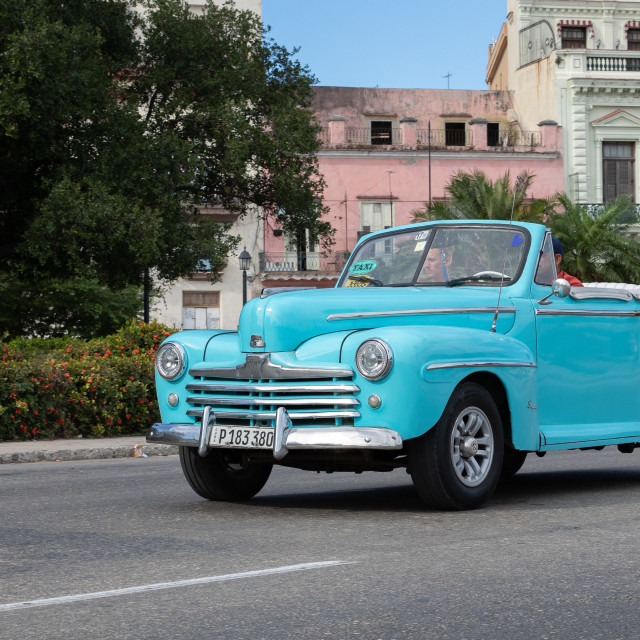 """Streetcars of Cuba"" stock image"