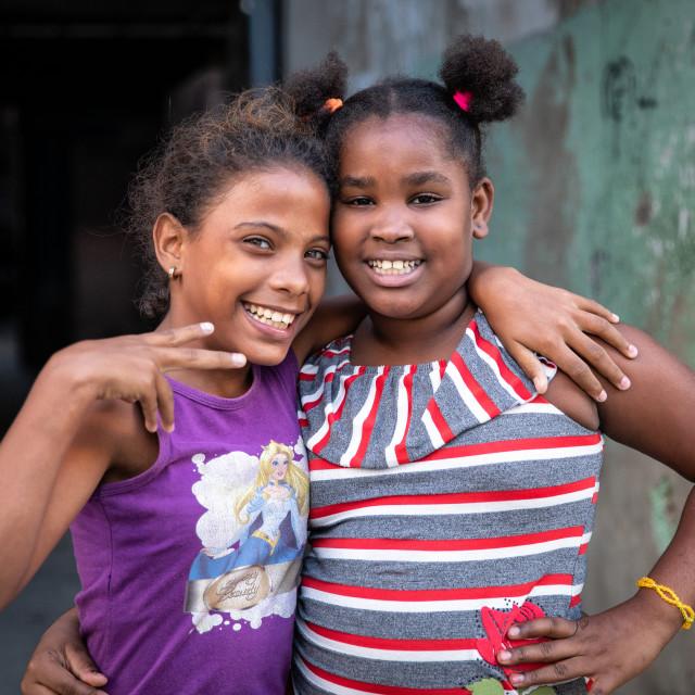 """""""The children of Havana"""" stock image"""