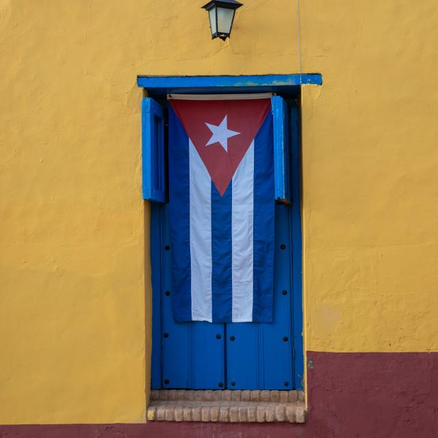 """Cuban window shutters"" stock image"