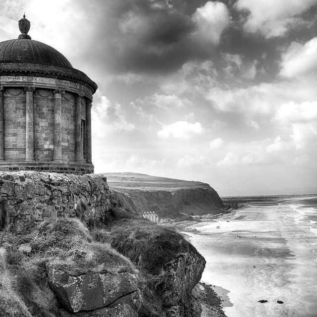 """""""mussenden temple game of thrones"""" stock image"""