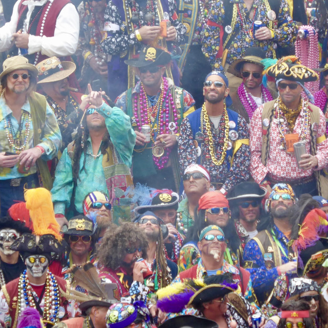 """""""Gasparilla Pirate Festival 2019"""" stock image"""
